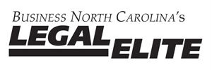 Business North Carolina Legal Elite Placard